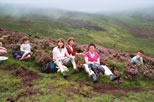 Lunch in the heather